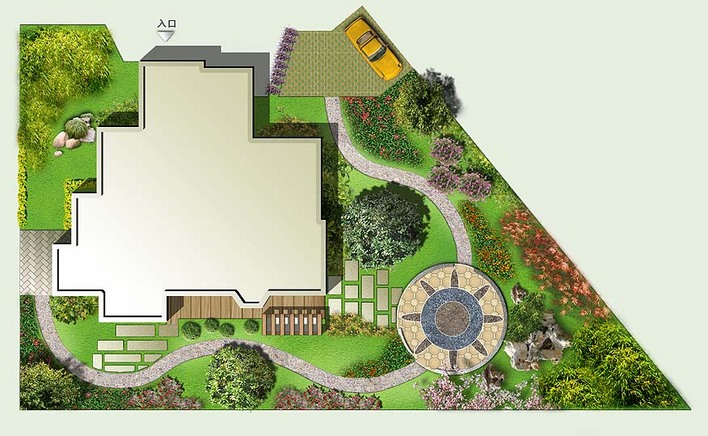 相关专题:别墅景观设计3d模型