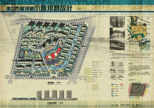 居住区规划设计 高清图片