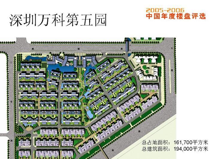 园_万科第五园位于深圳市