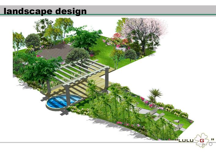 别墅景观设计效果图 景观效果图 别墅景观设计图纸及效果图大全 景观