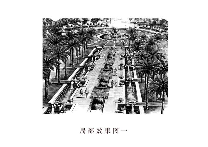 文化步行街设计图片