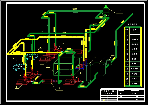 制冷与空调专业��/_空调制冷机房系统图