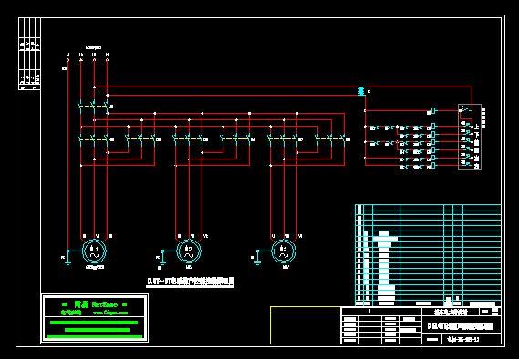 电动葫芦控制接线原理图(0.5t~5t)