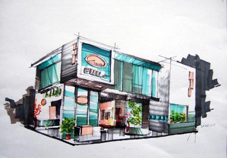 图纸 建筑图纸 室外景观手绘效果图  上传时间:2007-06-14 所属分类