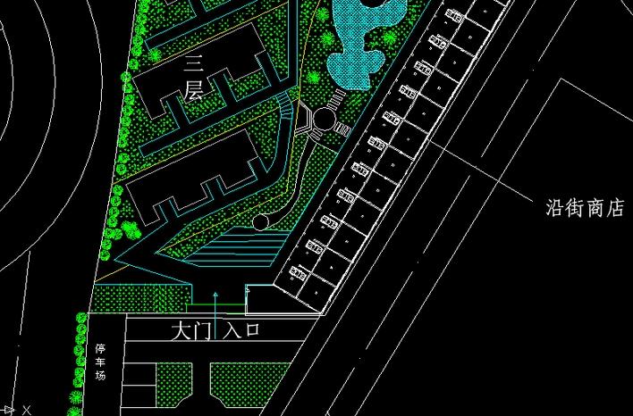 规划图小区总规划图小区规划图cad城市小区规划图