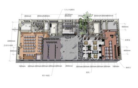办公空间设计图   相关专题:办公空间快题设计