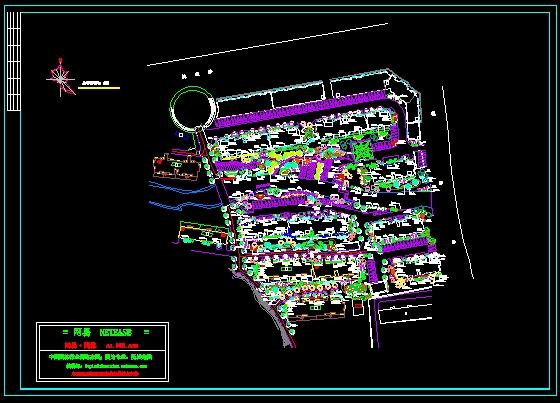 小区绿化总平面图 绿化施工总平面图 小区规划绿化总平面图 花境平面