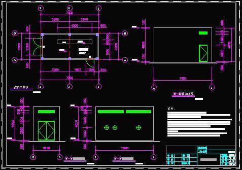 发电机房设计图_发电机房设计图_cad图纸下载-土木在线