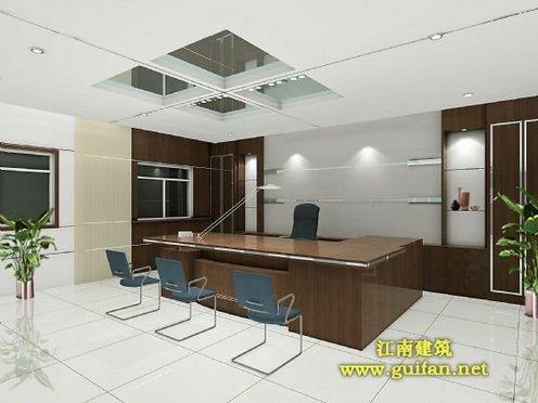 图纸 建筑图纸  老总办公室效果图   简洁,亮丽,时尚的老总办公室