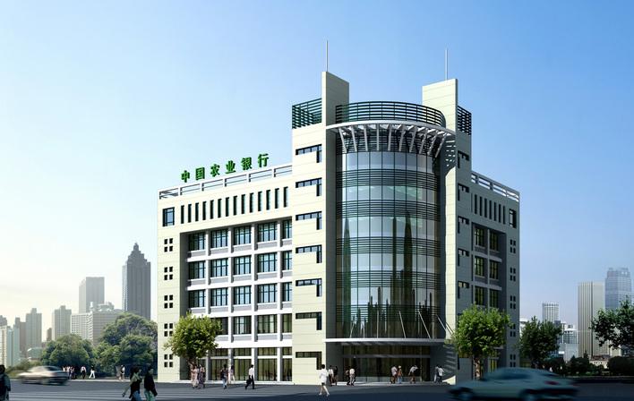 简介:2500平米办公大楼效果图