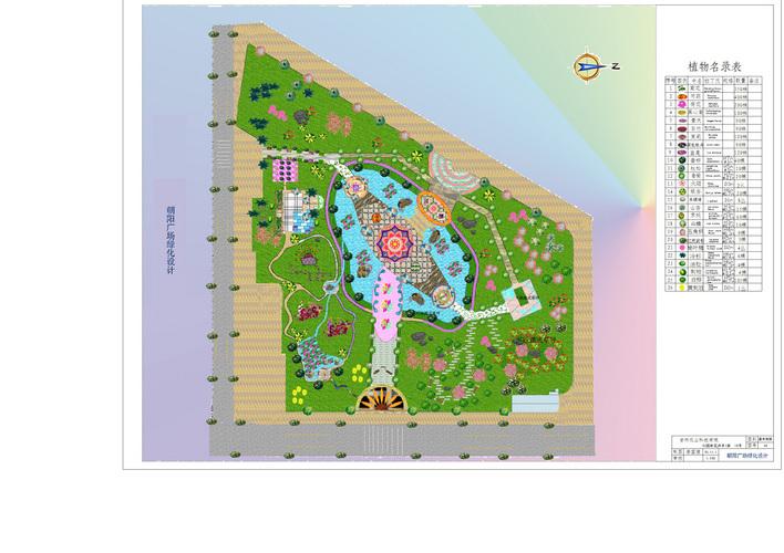 朝阳公园绿化设计