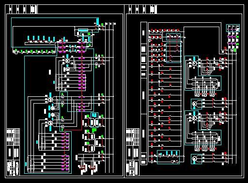 【吊车电气控制原理图】吊车电气控制原理图_cad图纸