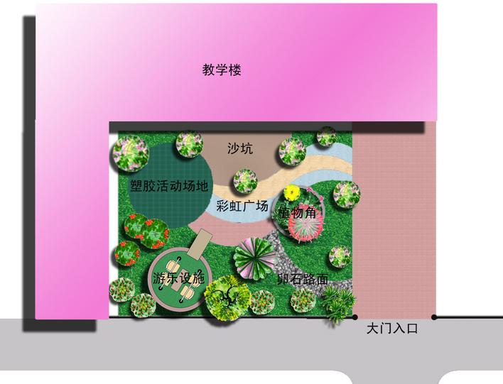 幼儿园小场地设计 相关专题:河北幼儿园欧式幼儿园