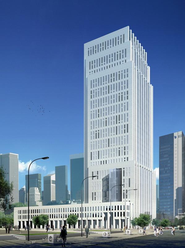新中式建筑元素厂房