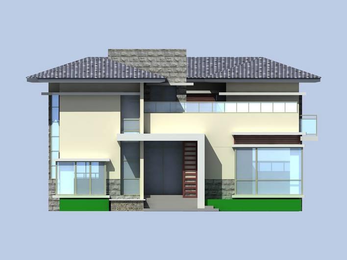 装修设计  17万5装修200平乡村温馨小别墅  300张小别墅效果及户型图
