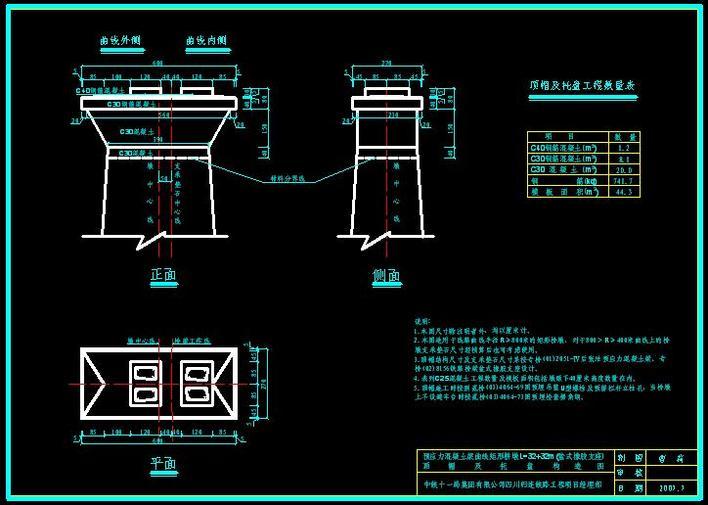 局部顶帽及图纸下载图_cad桥梁修改cad比例构造托盘的图片