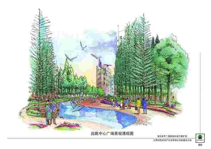 居住区景观设计图