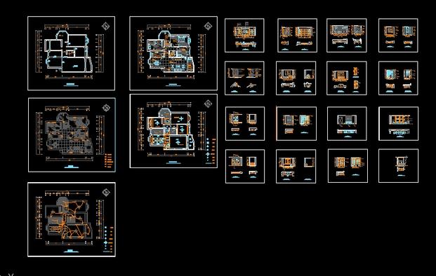 •卫生间立面图•平面布置图•家装图纸•家庭装修&