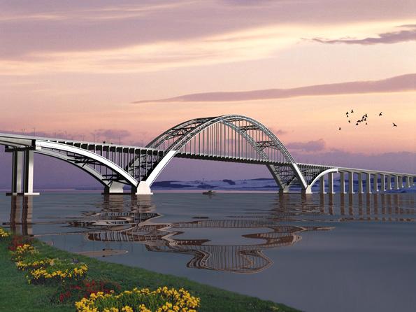 中承式拱桥