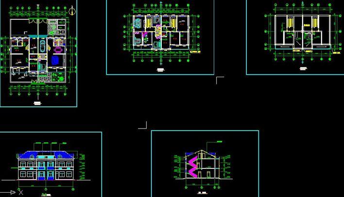 新农村住宅建设平面图