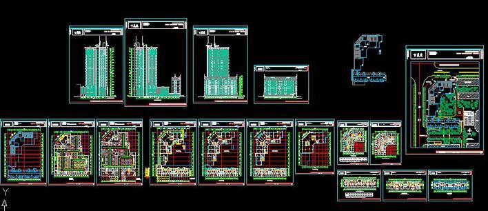 百盛园建筑单体设计