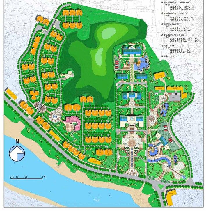 概念性城市规划设计