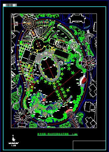 花灌木平面图黑白的花灌木平面表示法灌木平面图