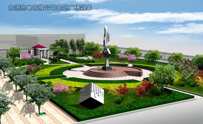 90个城市休闲绿地图 休闲绿地环境设计平面图 休闲绿地广场 某厂区