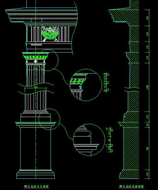 百种柱节点大样图纸b 百种柱节点大样图纸 结构建筑构造图集含彩钢板