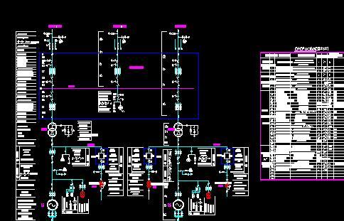 电站主接线图