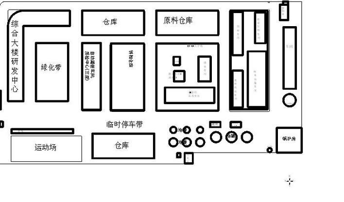 公司厂房平面图
