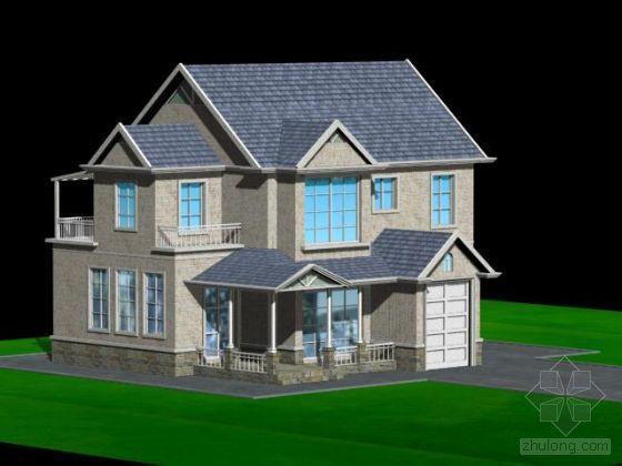 建筑模型_cad图纸下载-土木在线