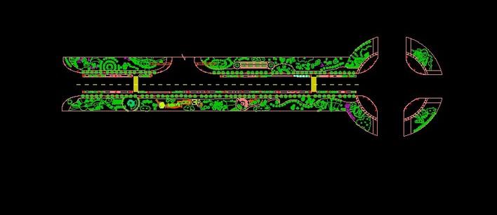 道路设计平面图