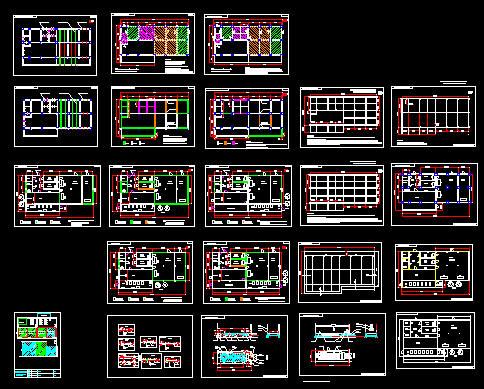 图纸 暖通设计图  冷库平面图   冷库平面图  相关专题:冷库设计平面