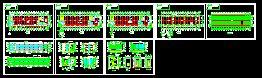 三层框架结构厂房(cad图纸下载)-图1