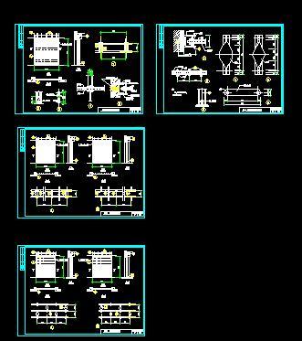 图纸 建筑结构图 结构说明大样图块