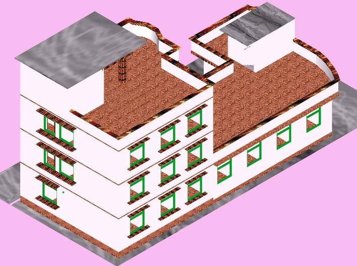 立体房屋设计图