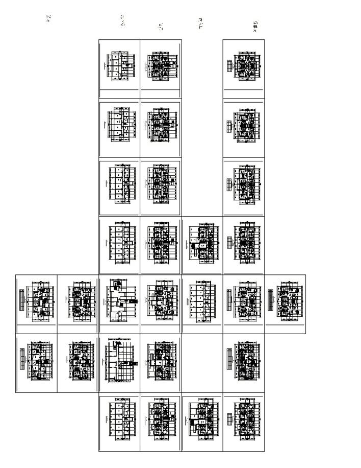 上海某住宅平面房型设计全套-图1