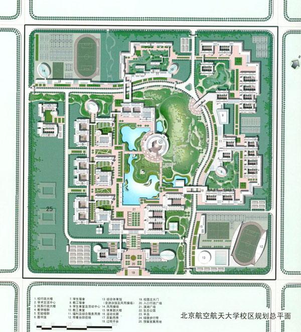 某大学校园规划图纸