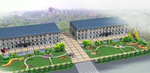图纸 园林设计图  街头绿地   街头绿地设计 受费用限制 没有大的铺装