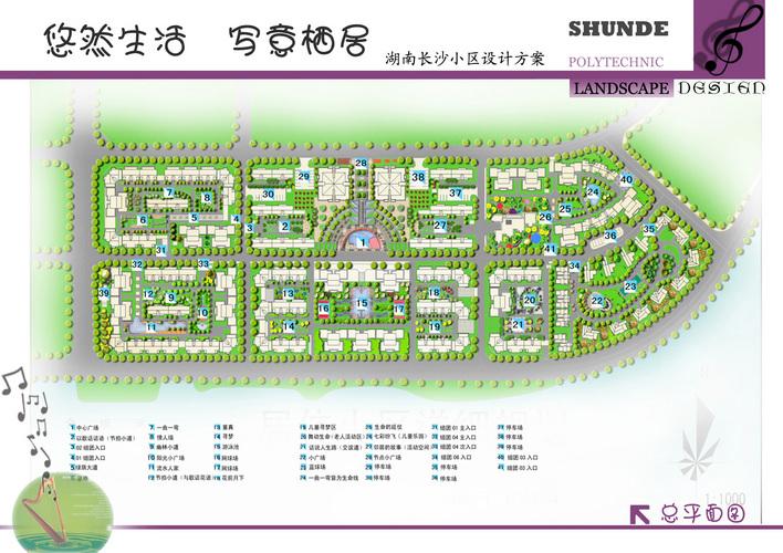 小区规划总平面图