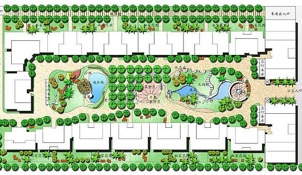 小区绿化景观设计_co土木在线(原网易土木在线); 食品工厂设计平面图
