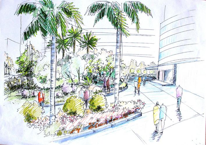 设计cad图纸及效果图 湛江市新农村建设方案