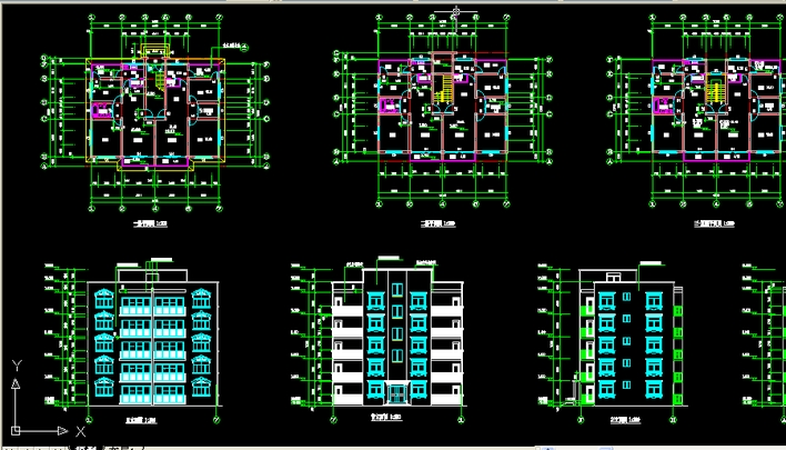 房屋建筑学课程设计图纸