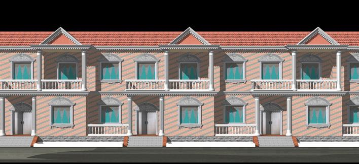 河南农村住房设计图