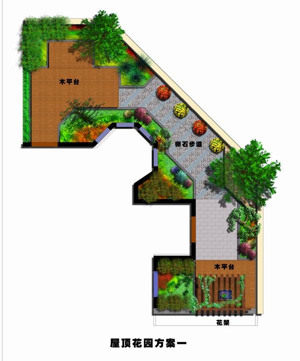 屋顶花园_土木在线