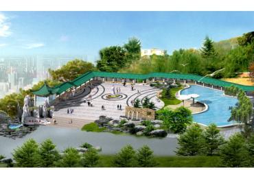 图钢结构连廊施工图景观廊架施工图弧形廊架施工图