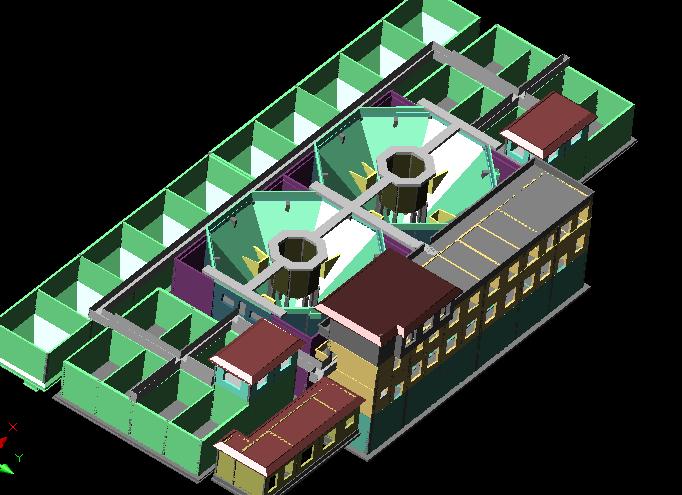 图纸 建筑图纸  立体三维图    非常实用   相关专题:建筑三维图 cad