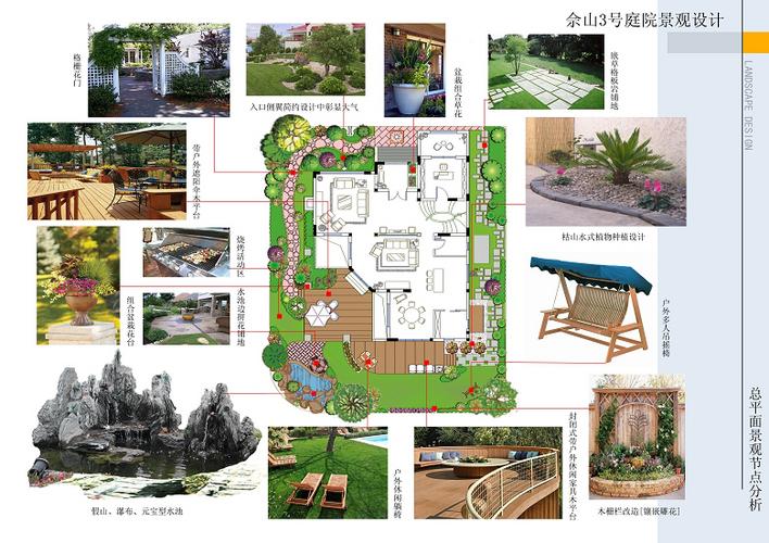 上海佘山三号某别墅庭院景观设计_cad图纸下载-土木