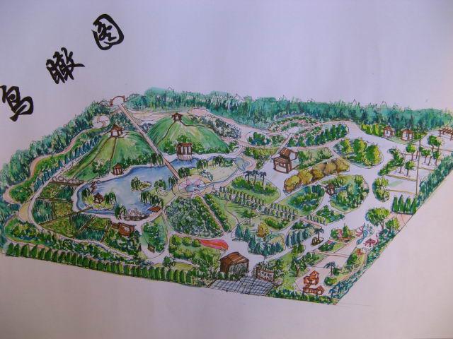 庭院景观设计平面图 道路景观设计平面图  所属分类:园林设计图  景观